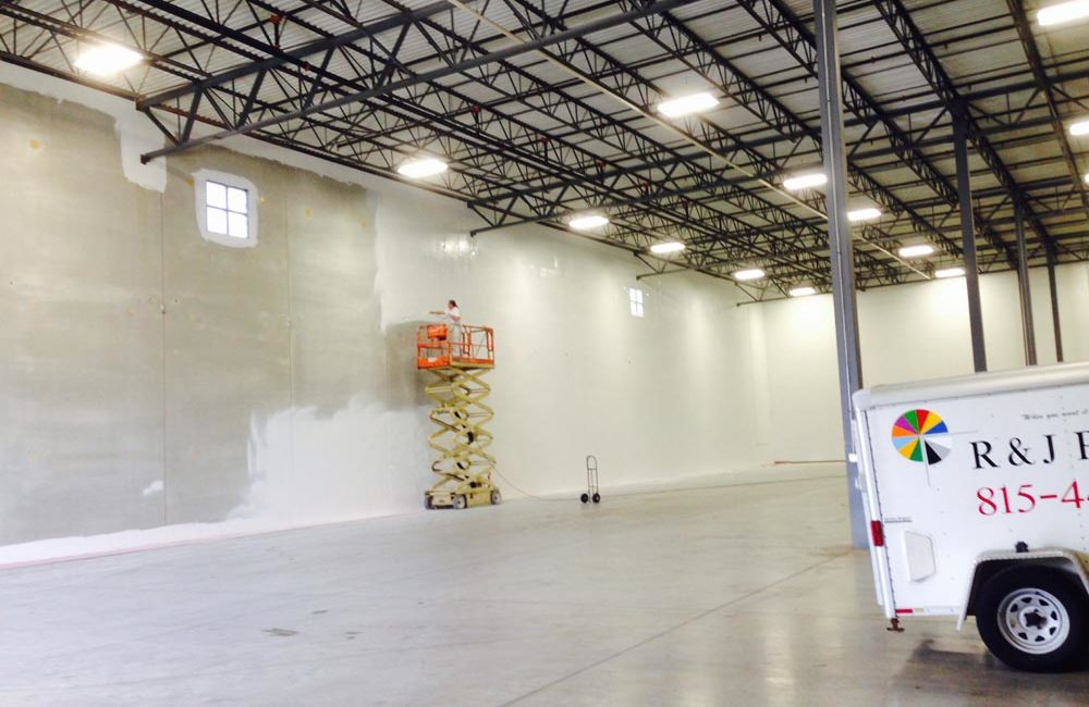 Interior Commercial Painting - Romeoville, IL