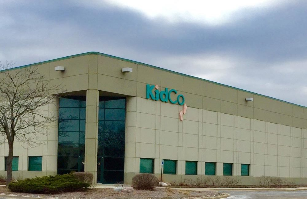 Exterior Commercial Painting - KidCo, Libertyville, IL