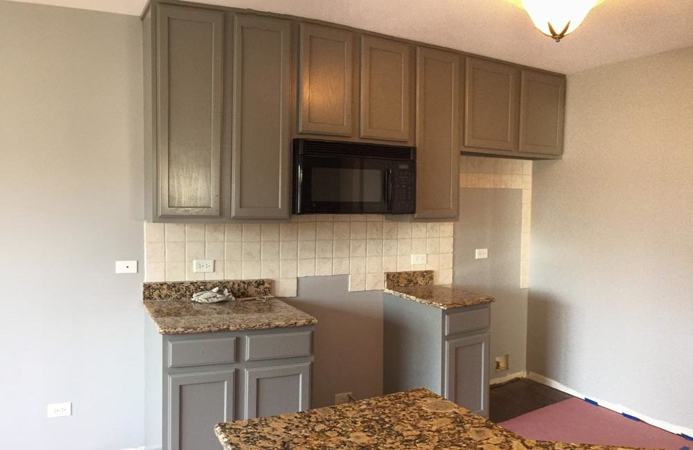 Kitchen Cabinet Painting - Schaumburg, IL
