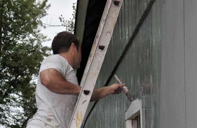 Exterior Residential Painting - Cary, IL