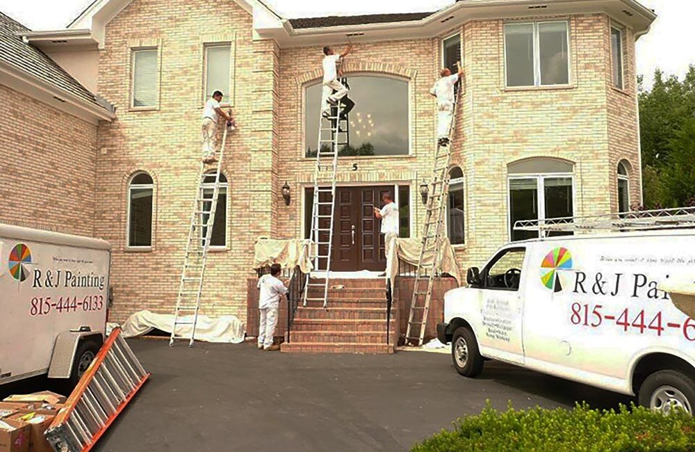Exterior Residential Painting - Barrington, IL