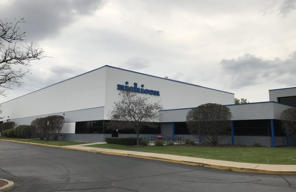 Nichicon - Schaumburg Exterior Commercial Painting